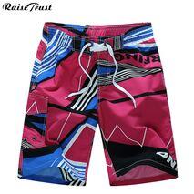 2019 Brand New Fitness Summer Hot Men Beach Shorts Men Quick Dry Printing Board Shorts Breathable Men's Clothing mens beach