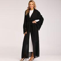 Abaya Kimono Kaftan Malaysia Pleated Muslim Cardigan Hijab Dress Abayas For Women Turkish Islamic Clothing Caftan Dubai Djellaba