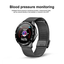 LIGE 2019 New Smart Watch Men OLED Color Screen Heart Rate Blood Pressure Multi-Function Mode Sport smartwatch fitness Tracker