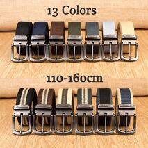 Military Tactical Belt Men Canvas Belts for Jeans Male Casual Metal Pin Detachable Buckle Straps Belt ceintures 140 150 160 cm